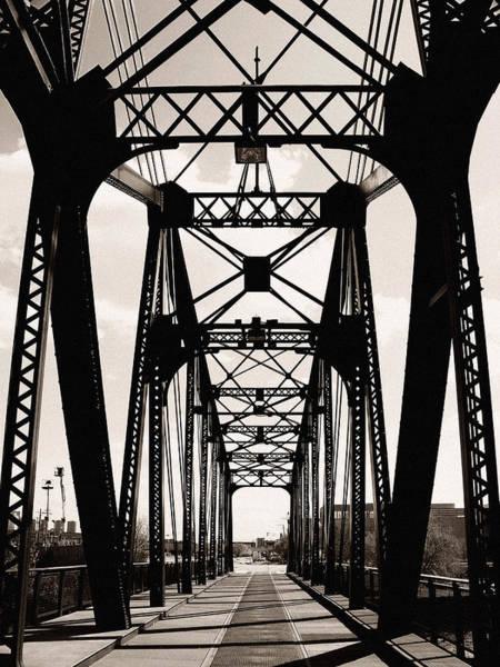 Cherry Avenue Bridge Art Print