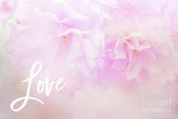 Cherry Blossom Valentine Art Print