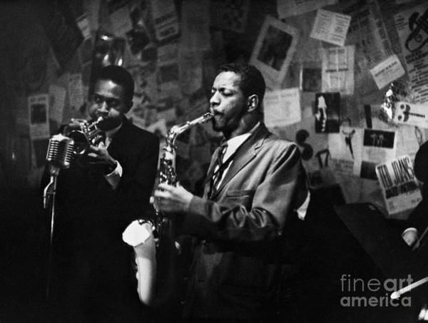 Flk Photograph - Cherry And Coleman, 1959 by Granger