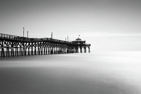 Cherry Photograph - Cherry Grove Fishing Pier by Ivo Kerssemakers