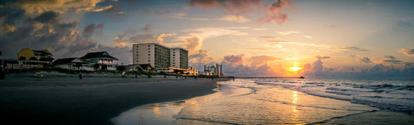 Cherry Grove Panoramic Sunrise Art Print