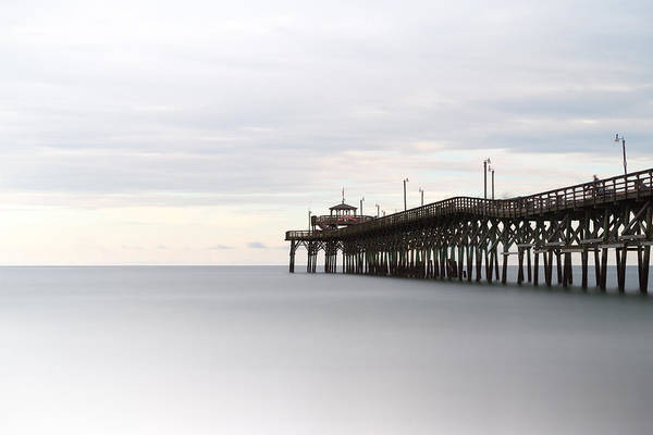 Cherry Photograph - Cherry Grove Pier II by Ivo Kerssemakers