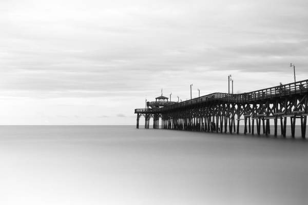 Cherry Photograph - Cherry Grove Pier by Ivo Kerssemakers