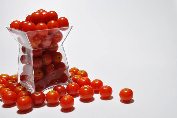 Photograph - Cherry Tomato by Mark Fuller