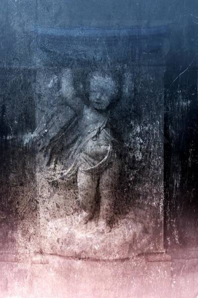 Photograph - Cherub Fountain by Patricia Strand
