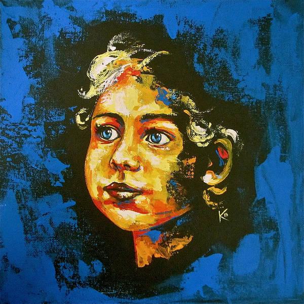 Painting - Cherub by Konni Jensen