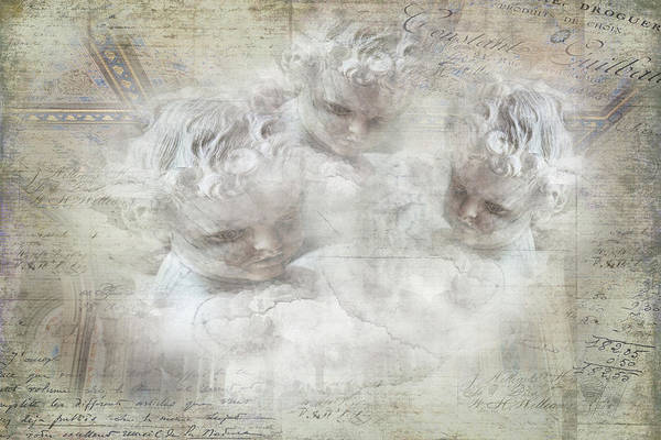 Photograph - Cherubs In Bethesda by Evie Carrier