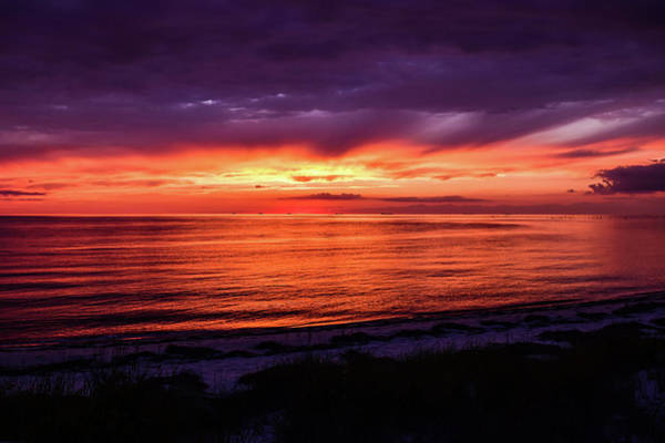 Photograph - Chesapeake Bay Sunset by Nicole Lloyd