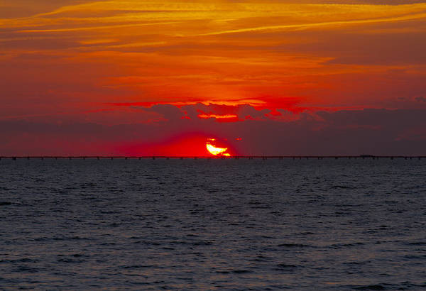 Photograph - Chesapeake Bay Sunset by Pete Federico