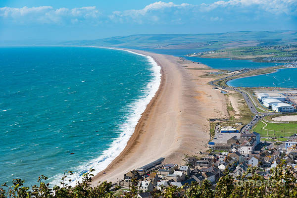 Photograph - Chesil Beach, Dorset by Colin Rayner