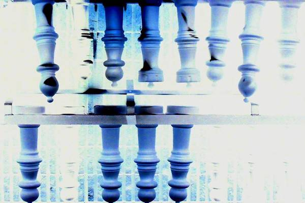 Painting - Chess Anyone 2 by Cyryn Fyrcyd