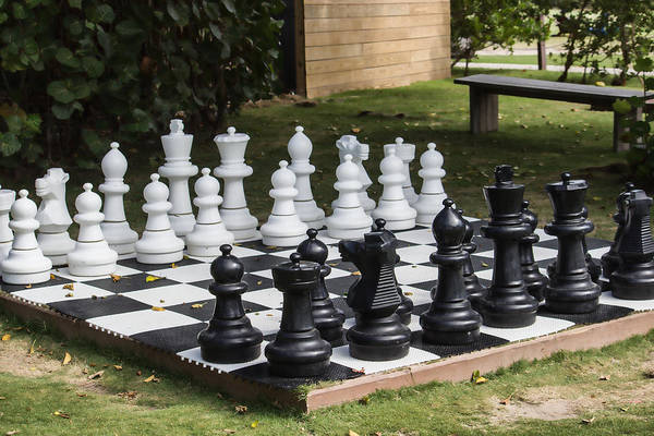 Photograph - Chess Anyone by Roberta Byram