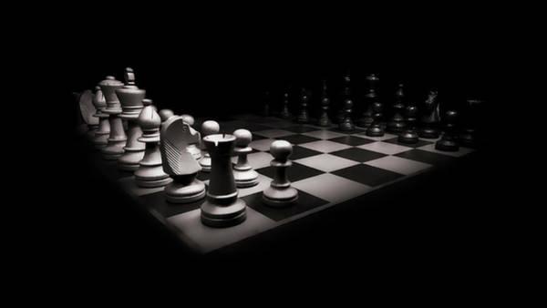 Wall Art - Digital Art - Chess War by Daniel Hagerman