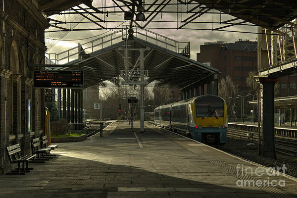 Arriva Photograph - Chester Station  by Rob Hawkins