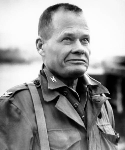 Wall Art - Photograph - Chesty Puller In Chigyong by War Is Hell Store