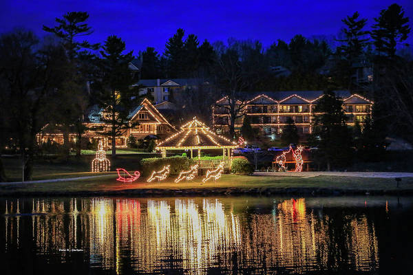 Photograph - Chetola Lights by Dale R Carlson