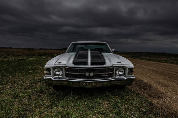 Photograph - Chevelle Ss Front View by Aaron J Groen