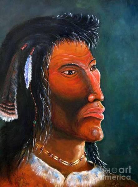 Mixed Media - Cheveyo Spirit Warrior  by Philip Bracco