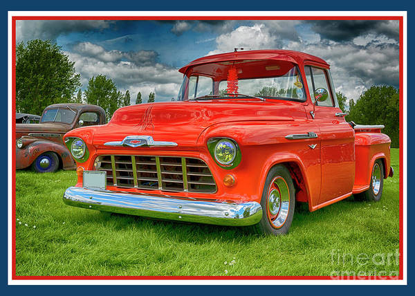 Wall Art - Photograph - Chevrolet 23-1956 Hydramatic 3100 by Wendy Wilton