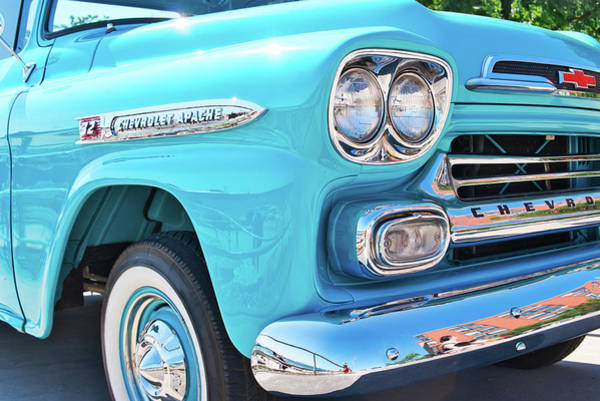 Photograph - Chevrolet Apache Truck by Nick Mares