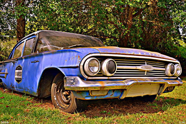 Photograph - Chevrolet Bel Air by Lisa Wooten