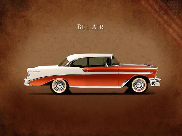 Wall Art - Photograph - Chevrolet Bel Air by Mark Rogan