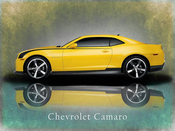 Camaro Wall Art - Photograph - Chevrolet Camaro by Mark Rogan