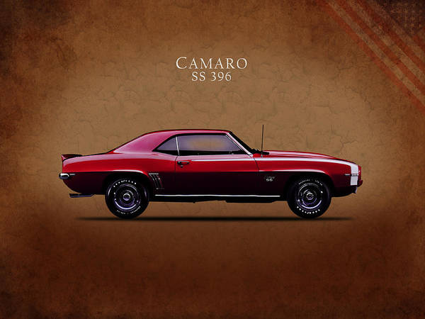 Wall Art - Photograph - Chevrolet Camaro Ss 396 by Mark Rogan