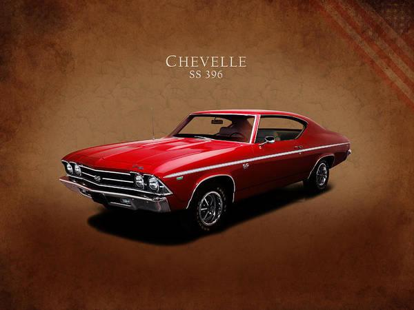 Wall Art - Photograph - Chevrolet Chevelle Ss 396 by Mark Rogan