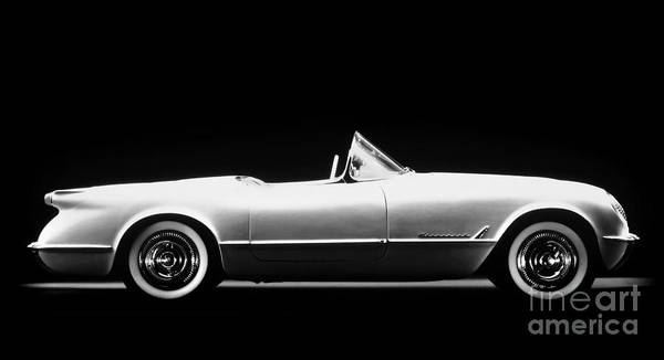 Photograph - Chevrolet Corvette, 1953 by Granger