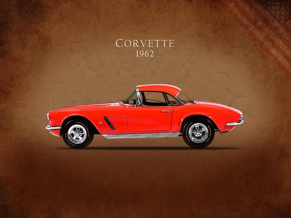 Wall Art - Photograph - Chevrolet Corvette 1962 by Mark Rogan