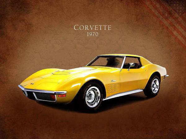 Wall Art - Photograph - Chevrolet Corvette 1970 by Mark Rogan