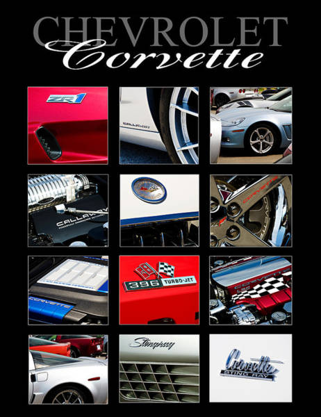 Wall Art - Photograph - Chevrolet Corvette by Ricky Barnard
