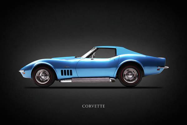 Wall Art - Photograph - Chevrolet Corvette Stingray 1969 by Mark Rogan