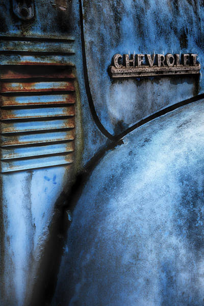 Photograph - Old Chevy Truck by Emmanuel Panagiotakis