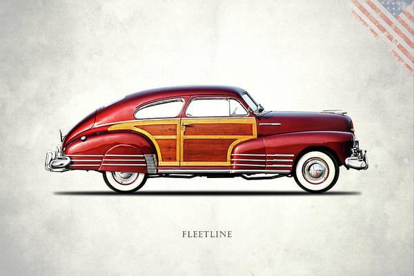 Wall Art - Photograph - Chevrolet Fleetline 1948 by Mark Rogan