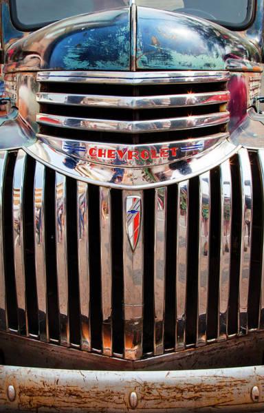 Photograph - Chevrolet Half Ton 1941 by Theresa Tahara