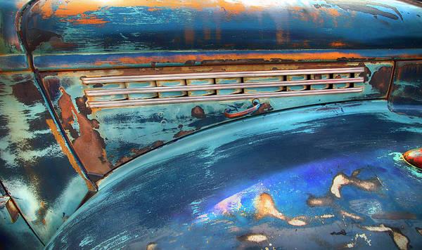 Photograph - Chevrolet Half Ton Abstract by Theresa Tahara