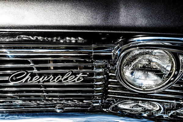 Photograph - Chevrolet Part 2 by M G Whittingham