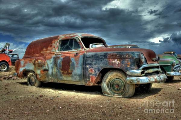 Photograph - Chevrolet Sedan Delivery by Tony Baca
