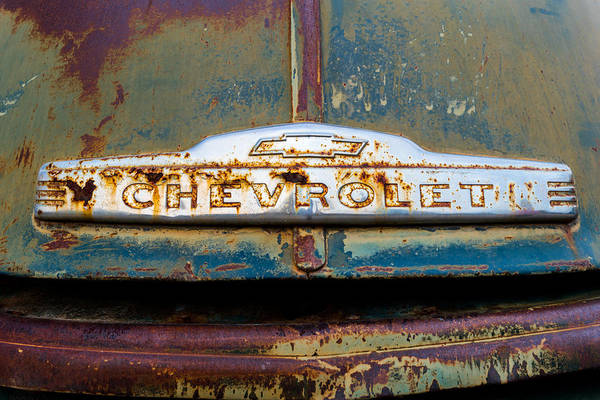Photograph - Chevrolet by TL  Mair