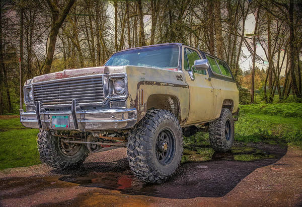 Photograph - Chevy Blazer by Bill Posner