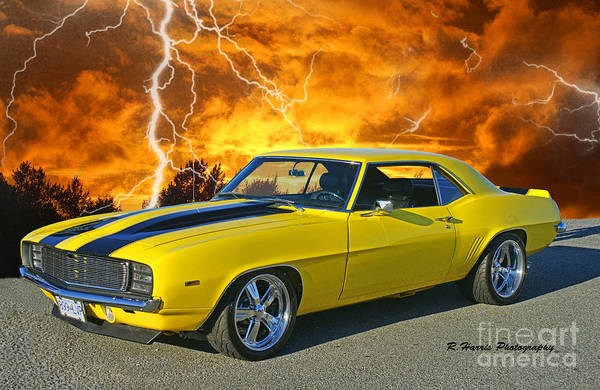Wall Art - Photograph - Chevy Camero by Randy Harris