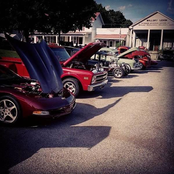 Chevrolet Corvette Photograph - #chevy #chevrolet #corvette #vette #c10 by Justin  Seagraves
