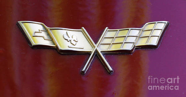 Photograph - Chevy Corvette by Richard Lynch