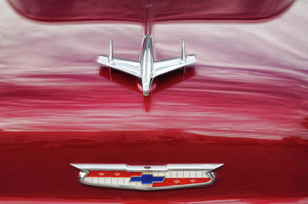Photograph - Chevy Detail by Sharon Popek