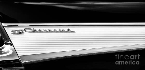 Fins Photograph - Chevy Fin by Tim Gainey