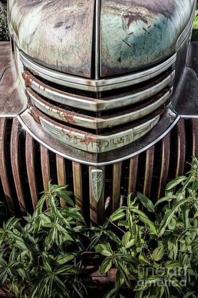 Photograph - Chevy Grill II by Brad Allen Fine Art