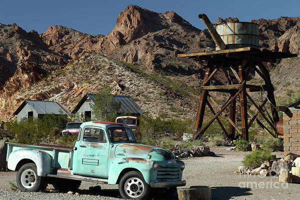Wall Art - Photograph - Chevy In The Desert  by Rick Mann