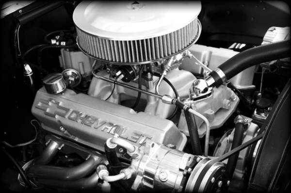 V8 Engine Wall Art - Photograph - Chevy Power by Ricky Barnard
